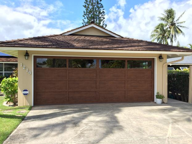 small garage and residential hawaii architecture cow wageuzi bar hawaiimartin stools kitchen design rug with doors island martin of maui picture
