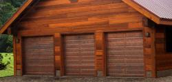 Martin's Copper model Garage Door